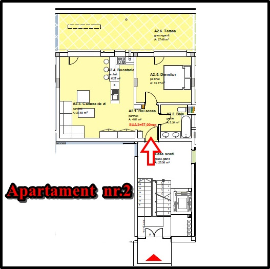 Plan-apartament-nr-2-parter-ansanblu-Panorama-Buna-Ziua_Cluj_Napoca