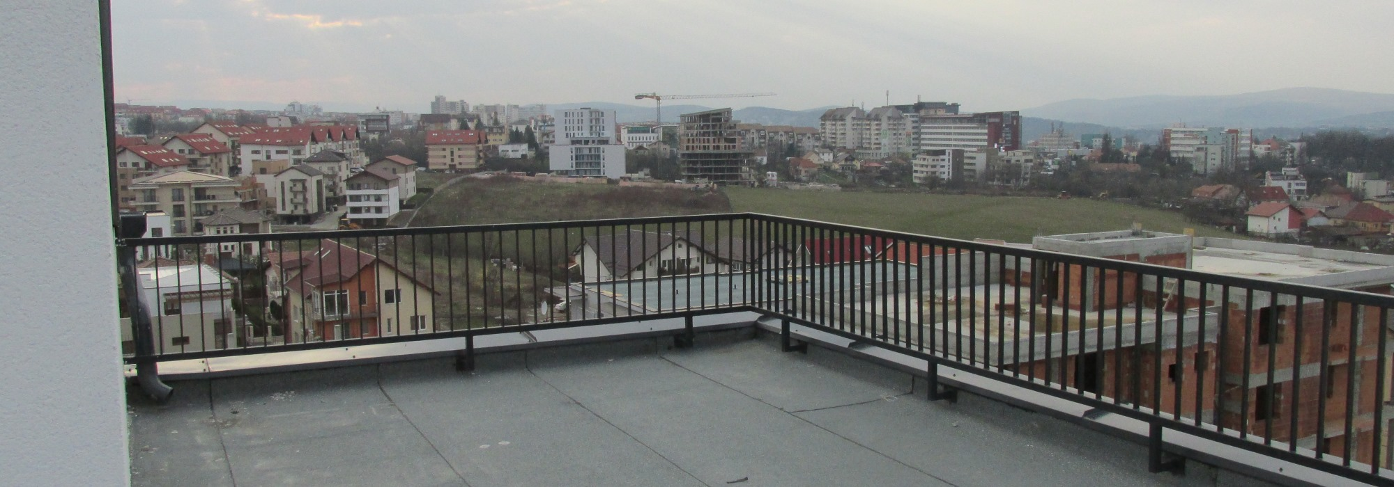 Clujul  vazut de sus